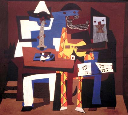Los tres músicos de Picasso