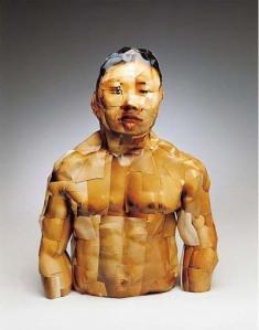 escultura de fotos